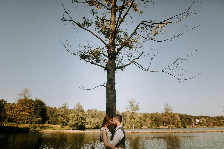 romantyczna sesja slubna plenerowa fotograf krakow