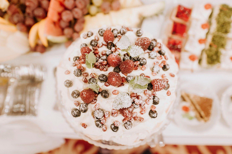 zdjecie tortu weselnego
