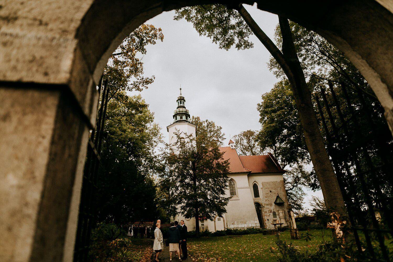kosciol sw.barbary w krakowie