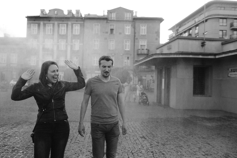 sesja narzeczeńska martyna i marcin, podgórze zabłocie kraków, fotograf ślubny kraków, www.jakubdziedzic.pl