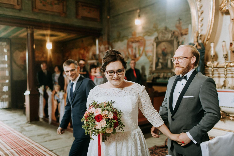 slub justyny i piotra, dwór w swidniku, fotografia ślubna kraków, www.jakubdziedzic.pl